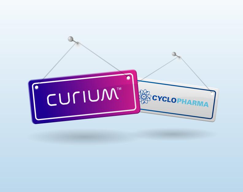 curium and cyclopharma merger