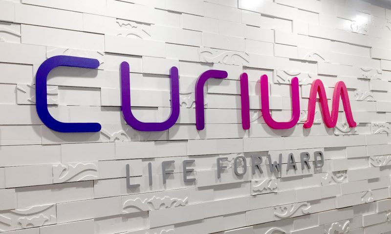 Curium - life forward