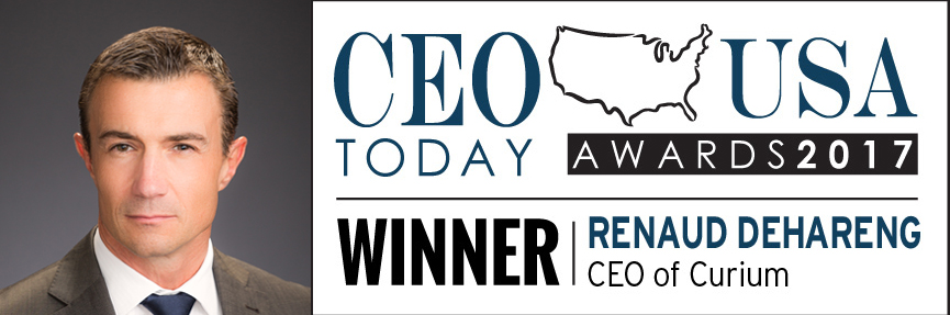 Renaud CEO today 2017 award